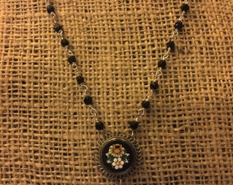 Micro Mosaic Necklace - Vintage to Modern!