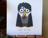 Harry Pottowl Greetings Card (Harry Potter)