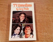 """Vintage Pop Culture Paperback, """"TV Comedians"""" by Gary Poole, featuring Gilda Radner, Robin Williams, Billy Crystal and more, 1979."""