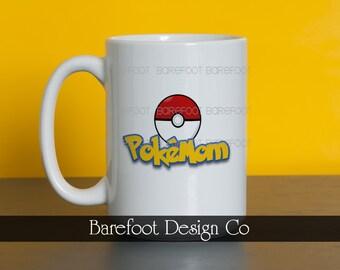 PokéMOM Coffee Cup Mug