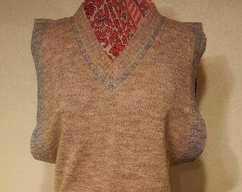 Wool Acrylic Blend Sweater