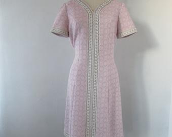 1960s knit mod dress | vintage 60s shift knit dress | 1960s mod dress | Small | The Eugenia Dress