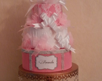Special Occasion Faux Cake Centerpiece