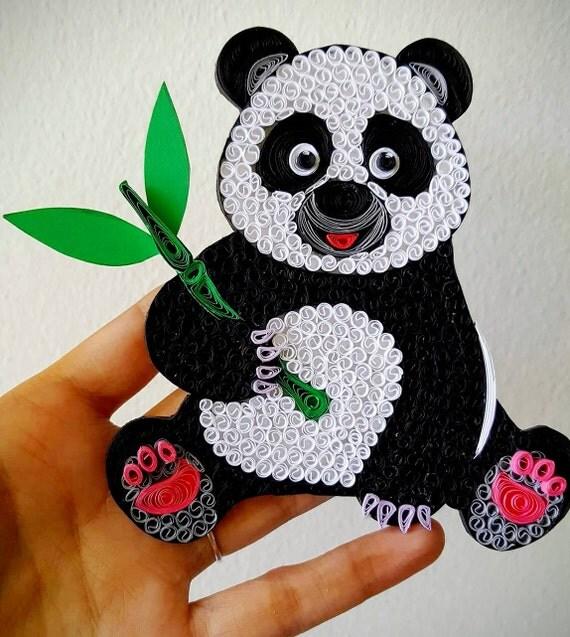 Panda Wall art, Panda Bear poster, Panda nursery Tree decor gift print, Panda lover Christmas gift, Panda baby shower gift, Panda Ornament