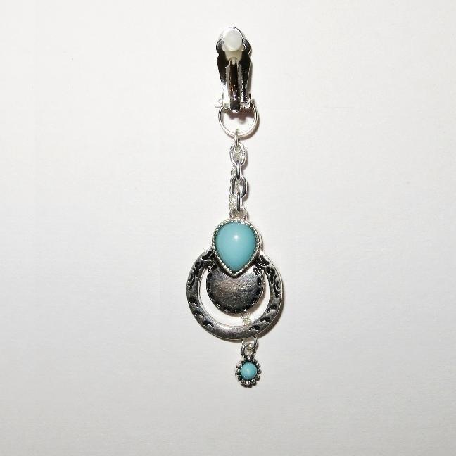 VCH Pierced Or Nonpierced Clip Clit Jewelry Southwestern Theme