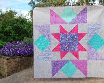 Bright Sky Quilt Pattern