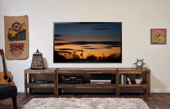 Meuble Tv Jacob Grange : Meuble Tv Bois – Bois De Palettes & Grange Bois Style Entertainment