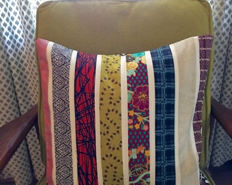 Pillow Cover-Eclectic-18 x 18 Quilted