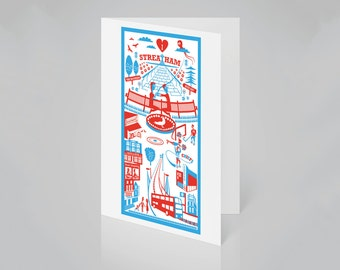 Streatham, London card