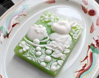 Tea Cup Rabbit Soap / Tea Cup Bunny Soap - A Perfect Easter Gift
