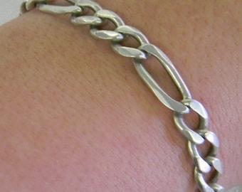 Sterling Silver 925 Beautiful Fiaro Bracelet 11.5 Grams #6016
