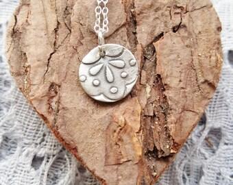 Drop Print Necklace