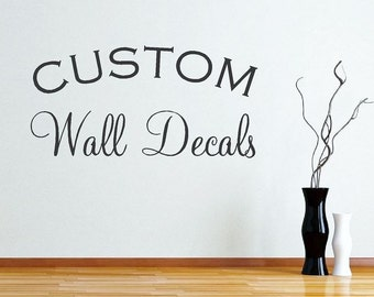 Custom Vinyl Decal Etsy - Vinyl stickers design your own