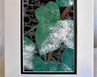 Ivy in Winter Fabric Picture