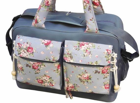 diaper bag large twins bag double stroller by theyellowpacifier. Black Bedroom Furniture Sets. Home Design Ideas