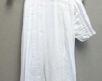 Dawson Traditional Christening Gown, Romper/Gown Combo, Boy Baptism Gown, Christening Boy Gown, Baby Boy Gown