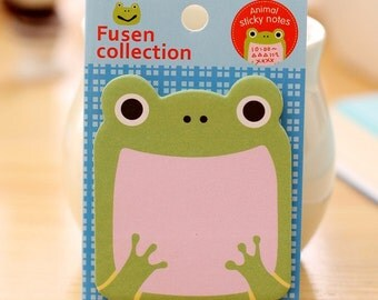 Cute Froggie Sticky Note Pad SN1098FRG