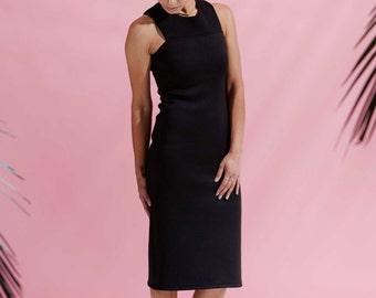 The Mosi Dress Black - body con dress