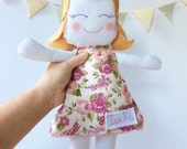 Doll / Mary doll / Rag Doll / Personalised doll / Stuffed Toy / Girl Doll / Little Girl Doll / Romantic Doll / Stuffed Girl Doll / Rag Doll