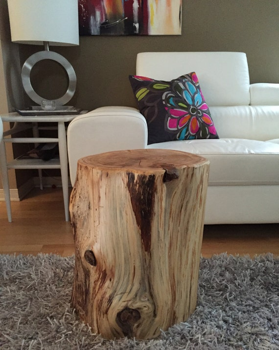 Stump Tables Log Furniture Stump Coffee Table by