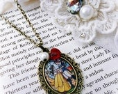Disneys Beauty and the Beast Necklace