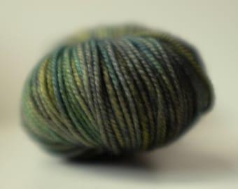 LIVINGSTON SPORT MERINO, 11 available, Biota colourway, min 100g, superwash merino yarn, hand-dyed, heavy sport yarn, light dk