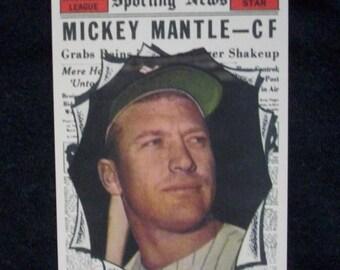 1961 Topps Baseball #578 Mickey Mantle [New York Yankees] 'AS - RP