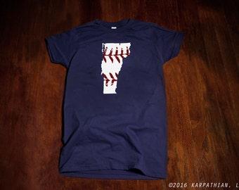 Vermont baseball Ladies junior fit t-shirt