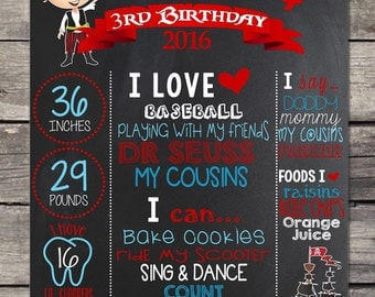 Arrggh It's A Pirate Birthday Chalkboard Poster PhotoProps or Keepsakes - Customized Printable File - Baby's First Birthday