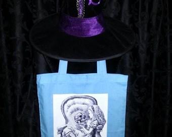 """Tote Bag """"Hamlet & Alice in Wonderland"""""""