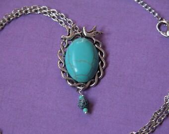 Turquoise 'Bird Egg' Pendant