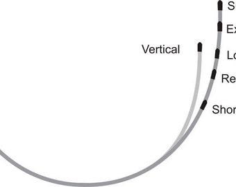 Underwire for Bra-making - 1 pair Regular Length