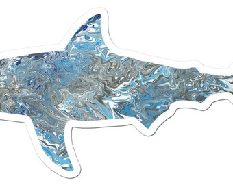 The Shark Art Sticker