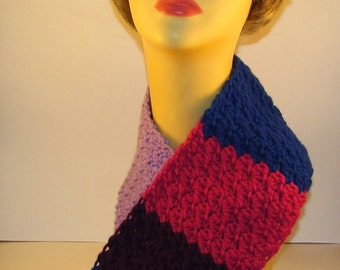 My Little Pony Twilight Sparkle Crochet Scarf