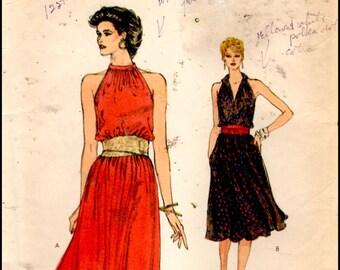 Vogue 8322  Misses' Dress  Size (6-10)