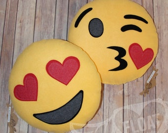 FLOAT's Emoji Pillows (Handmade with Quality Firm Support)