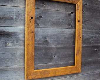 Old wooden picture frames 85 x 65 x 4, Barnwood,