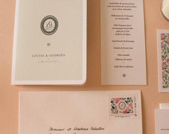 Wedding invitation Collection numero 13