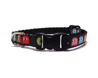The Pac Man | Cat Collar with Bell