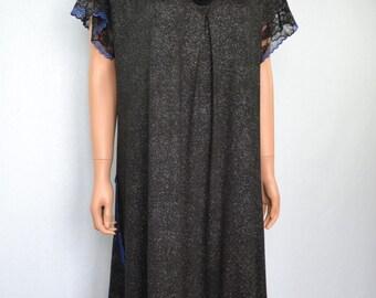 Long dress black bohémienne style