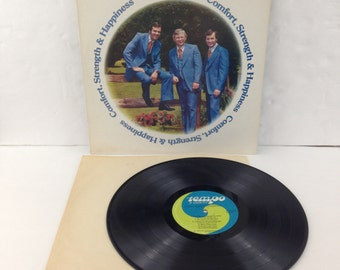 The Couriers Comfort Strength and Happiness Vintage Vinyl Record Album lp 1977 Tempo Records R 7176 Stereo