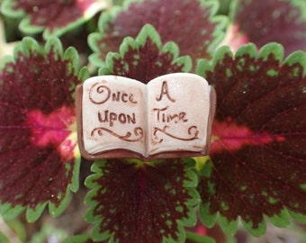 Tiny Book for Miniature Gardens! Cute Fairy Garden Decoration! Fairy Garden Stocking Stuffer!
