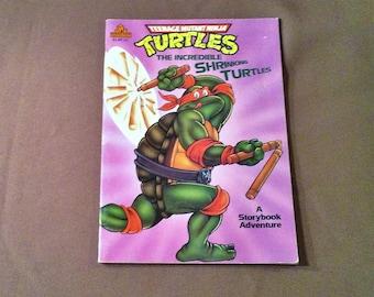 Teenage Mutant Ninja Turtles The Incredible Shrinking Turtles - TMNT 1990 Random House