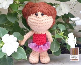 Amigurumi doll - Ready to ship Crochet doll - Crocheted doll -
