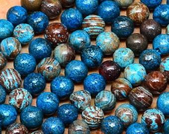 4mm  Natural  Rainbow Calsilica  Gemstone Round Beads   Full Strand