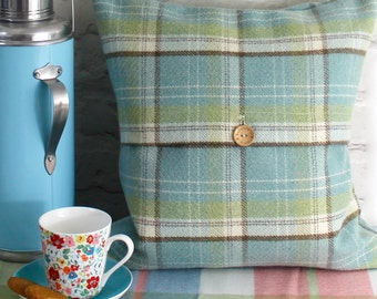 Duck egg blue cushion cover or pillow - throw pillow cover, decorative pillow, duck egg cushion, contemporary cushion covers, pillow case.