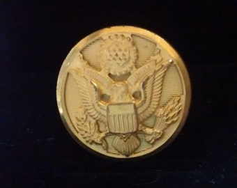 Vintage Military US Army Uniform Buttons