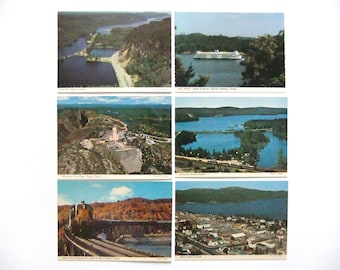 Lot of 6 Vintage Canada Postcards