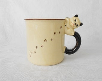 Kitty Cat Footprints Mug Japan