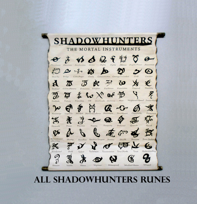 Shadowhunters Runes | www.imgkid.com - The Image Kid Has It!